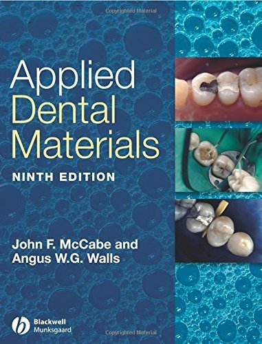 Applied Dental Materials, 9th Edition by John F. McCabe (2008-03-14)