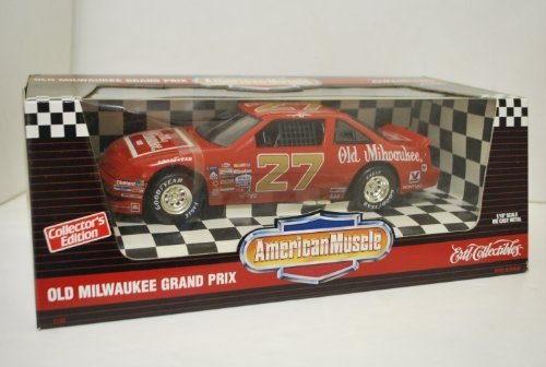 american-muscle-old-milwaukee-grand-prix-118-scale-diecast-metal-collectors-edition-adult-collectibl