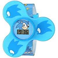 Sonic The Hedgehog Quartz Plastic Casual Watch, Color:Blue (Model: SNC4016)