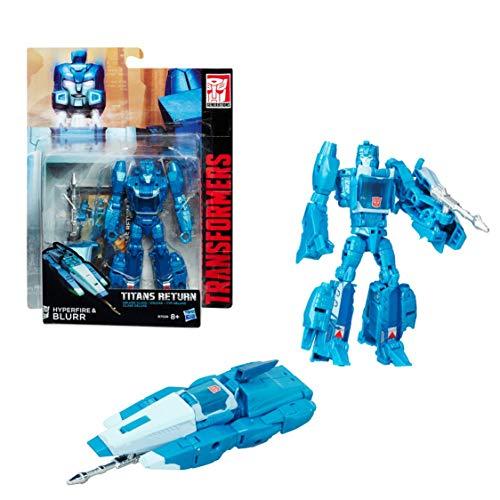 Hasbro 026843 Transformers Generations-Titans Returns Deluxe Class-Fracas und Scourge Actionfigur, varié