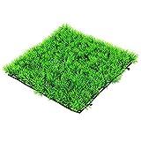 25x 25cm Künstliche Wasser Aquatic Gras Pflanze Fish Tank Landschaft Rasen Aquarium Dekoration