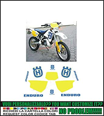 Kit adesivi decal stikers HUSQVARNA TE610 (ability to customize the colors)