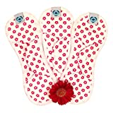 Bloom & Nora - Nora Stay Dry  Midi Size Reusable Sanitary Pads - Pack of 3 Pads