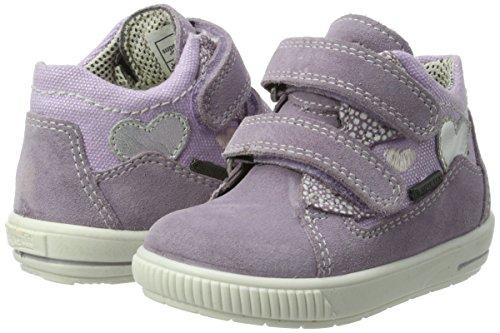 Superfit Baby Mädchen Moppy Surround Lauflernschuhe, Violett (Lila Kombi), 25 EU - 5