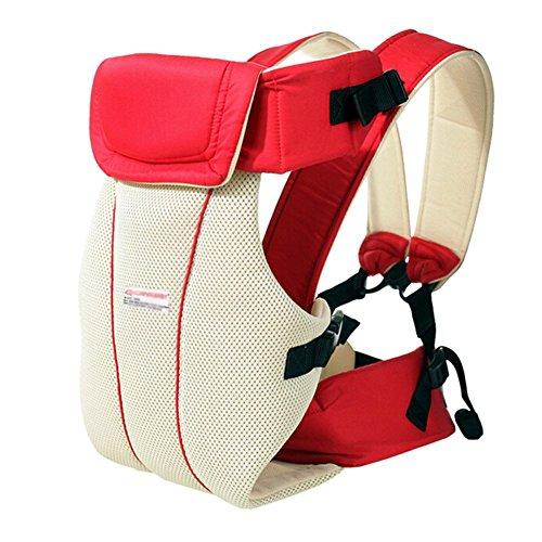 Minetom Respirable Multifonction Porte-bébé Confort Super Respirant  Réglable Antérieur Confortable Sangle de Portage Ventral 5ad2848805e