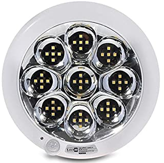 Led4u - Plafón de techo led con sensor de movimiento pir acu con batería interna luz de emergencia blanco frío (B00MW4GVAA) | Amazon Products