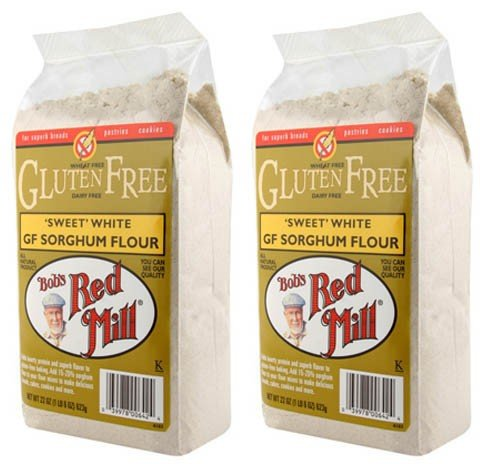 (2 Pack) - Bobs Red Mill - G/F Sorghum Flour 500g | 500g | 2 PACK BUNDLE Test