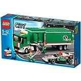 LEGO City - 60025 - Jeu de Construction - Le Camion du Grand Prix