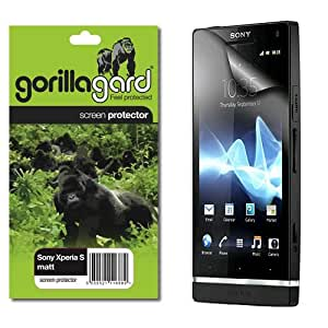 gorillagard Matte, Self Healing, Drop Fit Screen Protector For Sony Xperia S