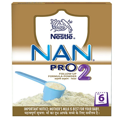 nestlé nan pro 2 follow-up infant formula powder, after 6 months, 400g - 51RPgq2QikL - Nestlé Nan Pro 2 Follow-Up Infant Formula Powder, After 6 months, 400g home - 51RPgq2QikL - Home