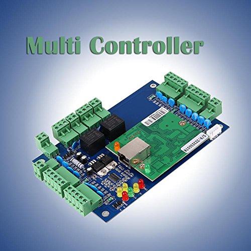 Hanbaili Wiegand 26 Bit TCP / IP Netzwerk-Zugangskontrolle Board Panel Control System Für 2 Tür 4 - Access-panel 12x12