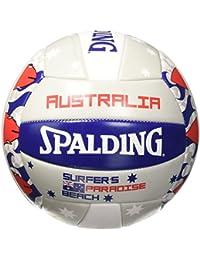 Spalding Beachvolleyball Australia SZ5 - Balón de voleibol para exterior, color multicolor, talla 5