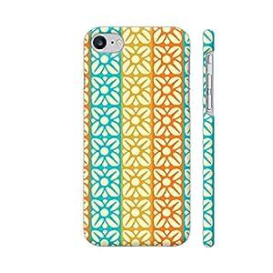 Colorpur Floral Fabric Texture Artwork On Apple iPhone 7 Cover (Designer Mobile Back Case) | Artist: Designer Chennai