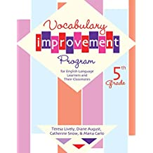 Vocabulary Improvement Program for English Language Learners and Their Classmates, 5th Grade