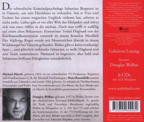 Der Mann, der kein Mörder war: Die Fälle des Sebastian Bergman (1): Alle Infos bei Amazon