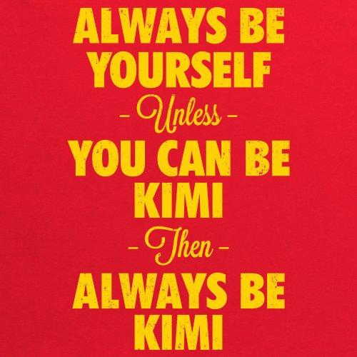 Always Be Kimi T-Shirt, Herren Rot