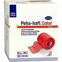 Peha-Haft Color Fixierbinde Latexfrei 10 cmx20 m rot, 1 St preisvergleich bei billige-tabletten.eu