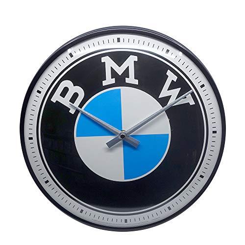 Nostalgic-Art 51097 - BMW - Logo - Wanduhr 31 cm