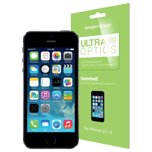 SPIGEN SGP Screen Protector Steinheil Series for new iPhone 5 Ultra Optics