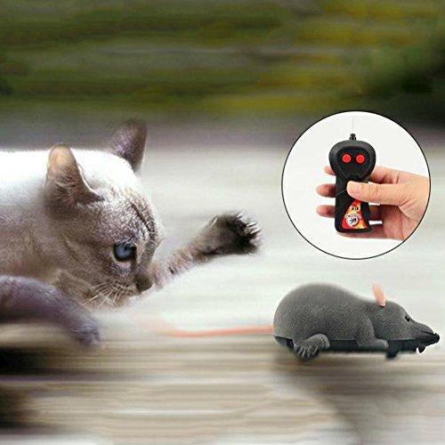 PanDaDa Haustier Katzen Hunde Neuheit Geschenk Spielzeug Lustige Ratte Maus Wireless Elektronische Fernbedienung - 3