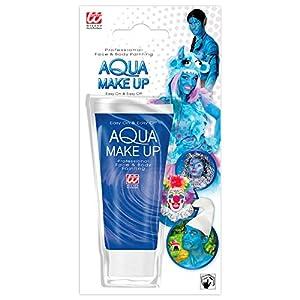 WIDMANN?Aqua Maquillaje Azul de Tubo unisex-child, talla única, vd-wdm02383