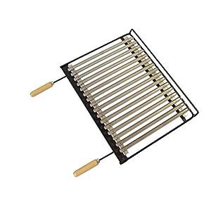 Imex el zorro 71664 – Barbecue Inox, 68 x 40 cm, colore: nero