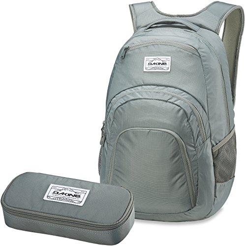 DAKINE 2er SET Rucksack Schulrucksack Laptoprucksack 33l CAMPUS LG + SCHOOL CASE Mäppchen Slate