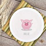 Teller Kinderteller Melaminteller Kunststoffteller Dreamchen Schwein