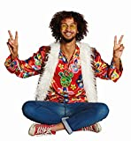 Rubie's Herren Kostüm Flower Power Hippie Karneval Fasching Gr.50