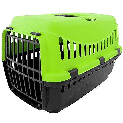 Tierbox - Transportbox - Transport - Tiere - Hund - Katze mit Farbauswahl (grün)