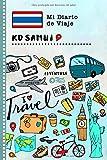 Ko Samui Diario de Viaje: Libro de Registro de Viajes Guiado Infantil - Cuaderno de Recuerdos de Actividades en Vacaciones para Escribir, Dibujar, Afirmaciones de Gratitud para Niños y Niñas