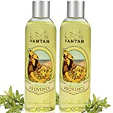 Set x2 Premium Provence French Vintage Shower Gel Pack of 2x250ml, Organic Verbena, Bergamot and Lemon. Un Air d