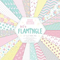 Papel – Paper addicts Let 's flamingle 12 x 12