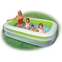 Intex 56483NP - Aufblasbarer Familienpool Swim Center, 103 x 69 x 22 Zoll