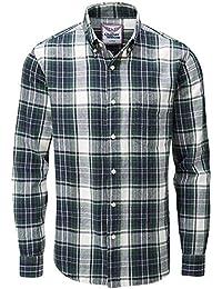 A Abbigliamento CAMICIA it Amazon quadri VERDE CXqRnwt