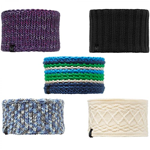 Buff Polar Foulard Multifonction Knitted et Bandeau Chauffe-Cou