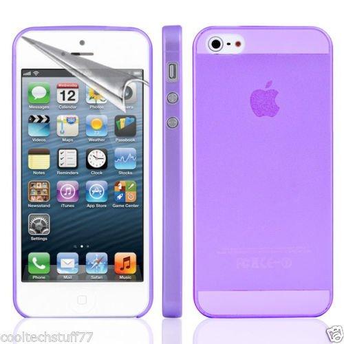 Easyplace®–Cover Case brinata–Ultra Dünn SLIM 0,3MM–WEIß satiniert–Apple iPhone 6/6S Plus–Robuste Schutzhülle Violett - violett