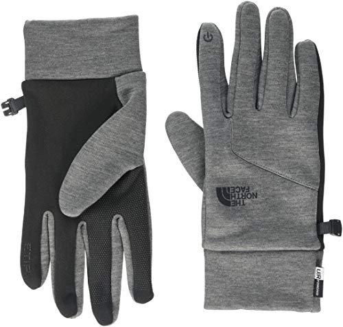 The North Face A7LNJK3 Gants Mixte Adulte, Grey, FR : S (Taille Fabricant : S)