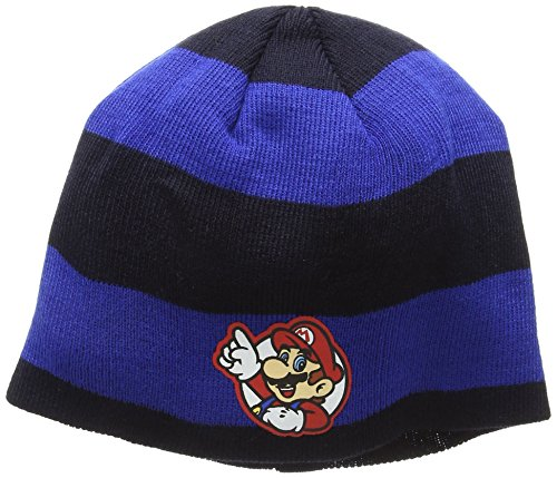 Nintendo Mütze gestreift Mario