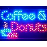 ADV PRO led135-b Coffee Donuts Cafe Led Neon Sign WhiteBoard Barlicht Neonlicht Lichtwerbung