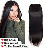 Ladiary tissage bresilienne closure frontale tissage bresilien lisse cheveux humain 10A Top Qualität cheveux naturel closure bresilienne14 pouce