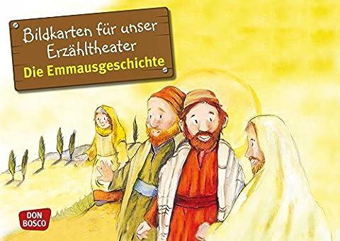 Die Emmausgeschichte - Bildkarten für unser Erzähltheater. Entdecken. Erzählen. Begreifen. Kamishibai Bildkartenset. (Bibelgeschichten für unser