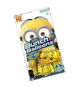 Giochi Preziosi-Super Liquidator Bunch O Balloons Bombe D Agua, Minions Despicable Me, 100Globos