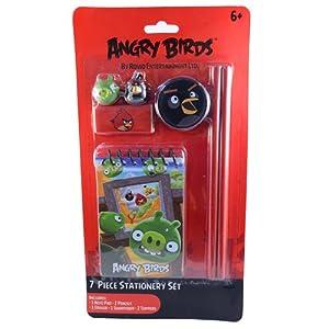 Angry Birds 11231 - Juego de Material Escolar (7 Piezas)