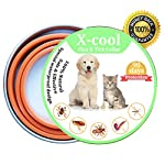 xcool flea and tick collar for dogs and cats, safe and healthy natural formula waterproof flea collar to kills repels mosquitoes ticks, 20 inch 90 days protection (19.7 inch) XCool Flea and Tick Collar for Dogs and Cats, Safe and Healthy Natural Formula Waterproof Flea Collar to Kills Repels Mosquitoes Ticks, 20 inch 90 days Protection (19.7 inch) 51RPy719cAL
