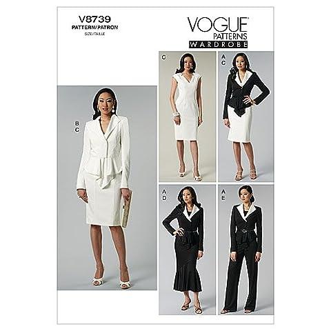 Misses' Jacket, Dress, Skirt and Pants-EE (14-16-18-20)