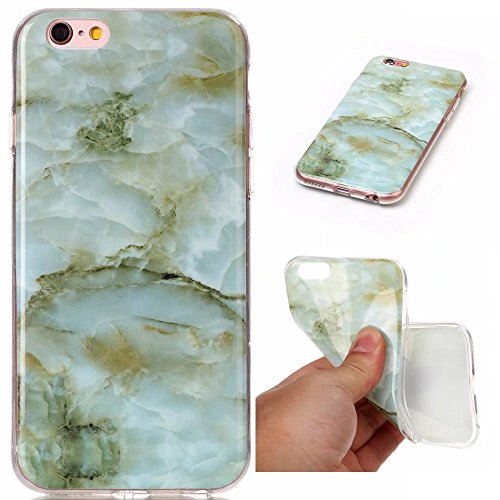 cover apple iPhone 6/6s.Marmo rosso DECHYI serie Custodia case è apple iPhone 6/6s. Alta sottile trasparente silicone morbido Custodia TPU. rosso+ Stilo capacitivo verde