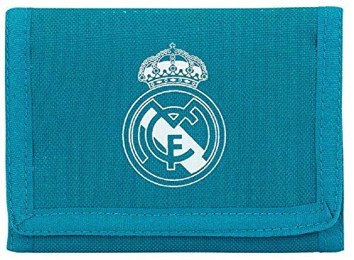Portefeuille Real Madrid club Ronaldo Cr7 Zizou Article sous licence officielle
