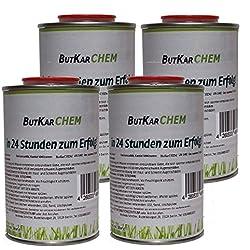 ButKarCHEM TK NR.462737 2 Kg Karbid 90% Feste Steine langanhaltende WIRKUNGSDAUER Calciumcabid Carbid Körnung in 8-15 (2Kg)