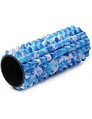 Yogistar Unisex Profesional quimioterapia Masaje rollo de Spike, unisex, Profi Faszien Rolle/ Massage Rolle - Spike, camouflage-Blue